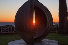 Sunset at Gestation II during the Winter Solstice